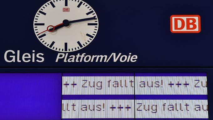 Die Geduld der Bahnreisenden wird möglicherweise schon bald wieder strapaziert.