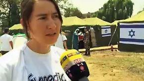 Hilfe für Opfer im Erdbebengebiet: Israel stellt großes Feldlazarett in Kathmandu bereit