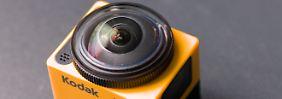 Action-Kamera mit Rundum-Blick: Pixpro SP360 sieht mehr als alle anderen