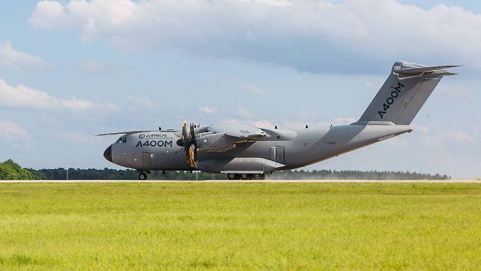Nach Absturz in Sevilla: Bundeswehr setzt Testflüge mit A400M aus