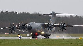 Triebwerkschaden des A400M: Transporterwartung kostet Airbus Milliarden