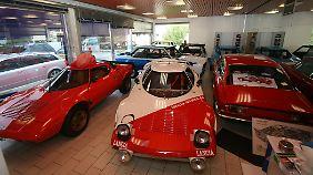 Neben dem Stratos hat der Besitzer noch andere Fahrzeuge im Fuhrpark.