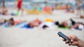 Telefonieren im Urlaub: EU streitet über Abschaffung der Roaming-Gebühren