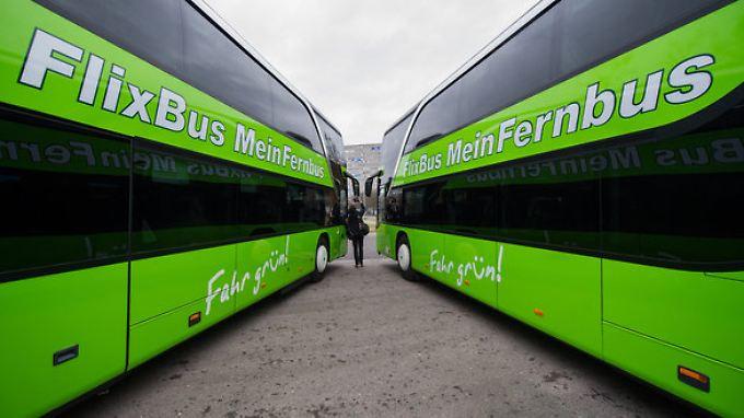 MeinFernbus Flixbus ist Marktführer in Deutschland.