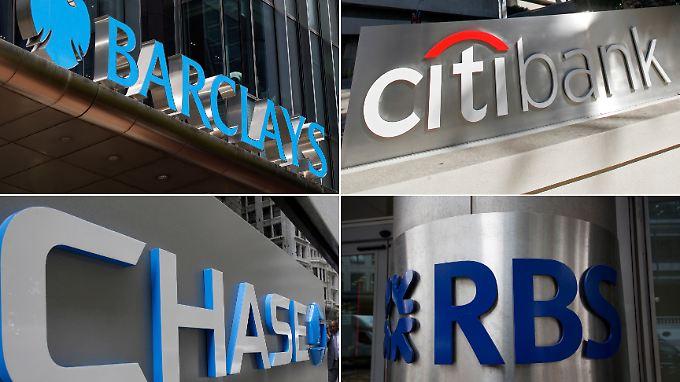 Neun Großbanken zahlen mehr als zwei Milliarden Dollar an Investoren.