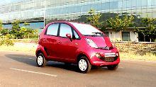 Der neue Tata Nano wird wie sein Vorgänger knapp 3000 Euro kosten, hat aber wesentlich mehr zu bieten.
