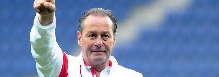 Erst Rettung, jetzt Abgang: Stevens verlässt den VfB Stuttgart