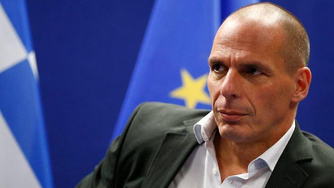 """Yanis Varoufakis spricht von """"unerträglich hohen"""" Zielen der Gläubiger."""