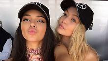 Kardashian-Spross trägt seine Kette: Lewis Hamilton schnappt sich junge Models
