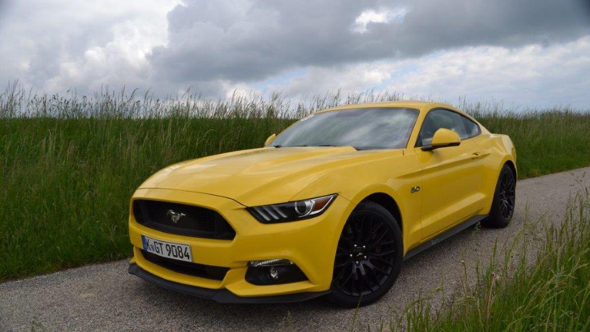 Muscle Cars Zum Kleinen Preis Ford Mustang