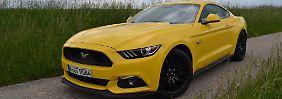 Mit 5.0 Liter Hubraum und acht Zylindern ist der Mustang GT ein echtes Muscle Car.