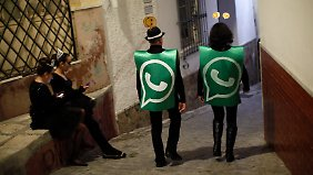 """Whatsapp braucht kein Marketing, die Marke und Messenger verbreiten sich """"viral""""."""