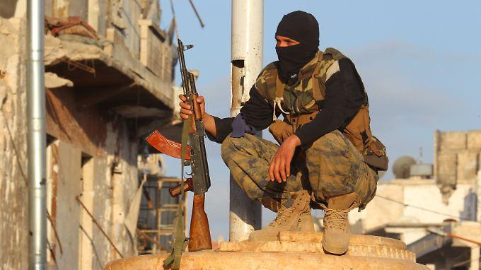 Al-Nusra-Kämpfer in Ariha.