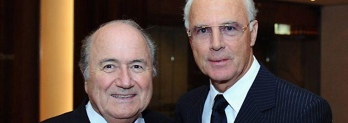 Blatter und Beckenbauer im Jahre 2008.