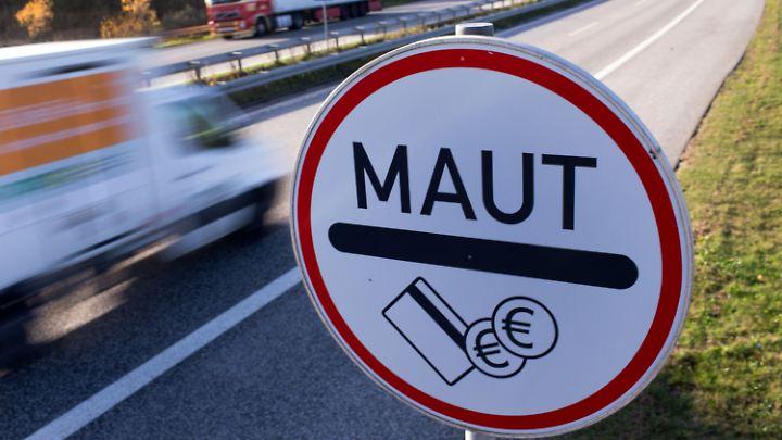 Die Pkw-Maut soll ab 2019 in Deutschland gelten.