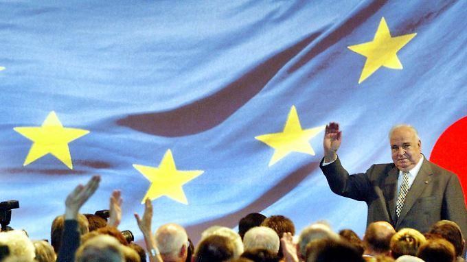 Europa war für Helmut Kohl eine Herzensangelegenheit.