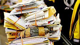 Die Post bleibt kommende Woche wohl erstmal liegen.