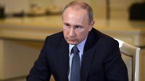 Interview zum G7-Ausschluss: Putin rechtfertigt seine Politik