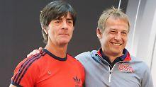 Der Sommerkick gegen die USA: Löw will's seriös, Klinsmann läuft heiß