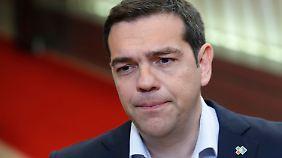 EU-Schuldenstreit mit Griechenland: Spitzentreffen bleibt ohne konkretes Ergebnis