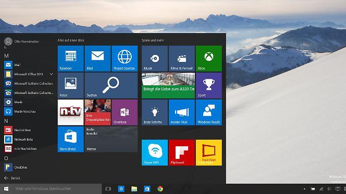 Am 29. Juli fällt der Startschuss für Windows 10.
