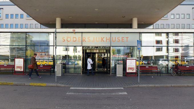 Das Södersjukhuset-Krankenhaus ist das größte Krankenhaus der schwedischen Hauptstadt.