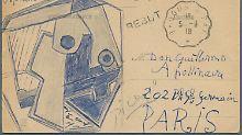 Persönlicher Gruß des Malers: Bieter reißen sich um Picasso-Postkarte