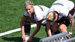 """Schwieriges WM-Viertelfinale: DFB-Frauen wollen Frankreich """"keine Luft zum Atmen geben"""""""