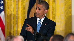 Immer wieder dazwischengerufen: Obama wirft Transgender-Aktivist aus dem Weißem Haus