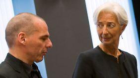 Streitpunkt zwischen Athen und EU: Lagarde könnte zum Zünglein an der Waage werden