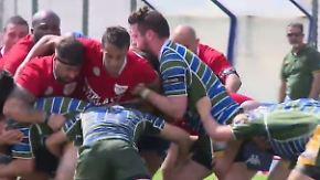 """Rugby-Team im Knast von Turin: """"Schwere Jungs"""" erobern vierte italienische Liga"""