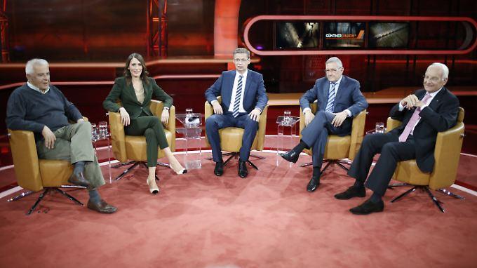 Die Polit-Talkshow offenbarte die ganze Absurdität der Griechenland-Rettungsversuche.