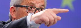 Juncker: Wir wollten mehr soziale Fairness schaffen.