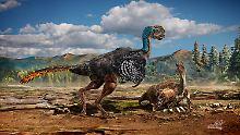 So könnte der Huanansaurus ganzhouensis ausgesehen haben.