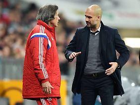 Mit Guardiola müsste Müller-Wohlfahrt im Fall einer Rückkehr nicht mehr zusammenarbeiten, der Spanier verlässt den Verein im Sommer.
