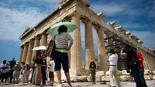 BIP nach oben korrigiert: Konsum kurbelt griechische Wirtschaft an