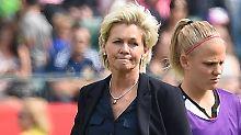 """Bundestrainerin nach der Niederlage: Neid: """"Das ist sehr bitter und traurig"""""""