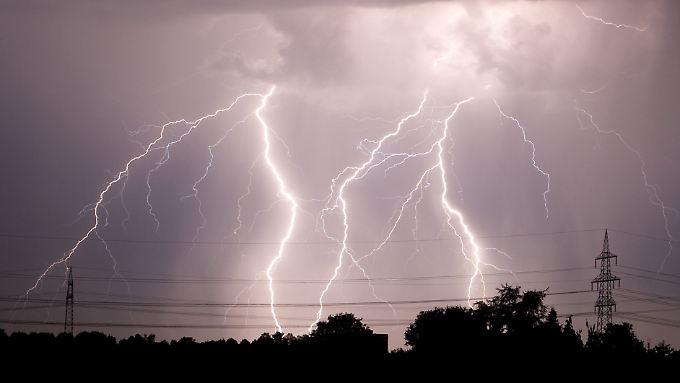 Unwetter folgen auf die Hitzewelle.