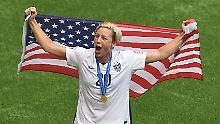 Denkwürdiges Frauen-WM-Finale: USA holen mit Kantersieg den Titel
