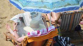 Nach teils heftigen Gewittern: Montag verabschiedet sich die große Hitze