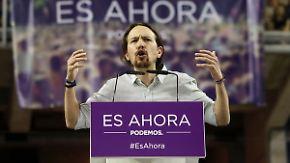 """Linke Podemos mit Stimmzuwachs: Griechenlands """"Nein"""" hat Signalwirkung auf Spanien"""