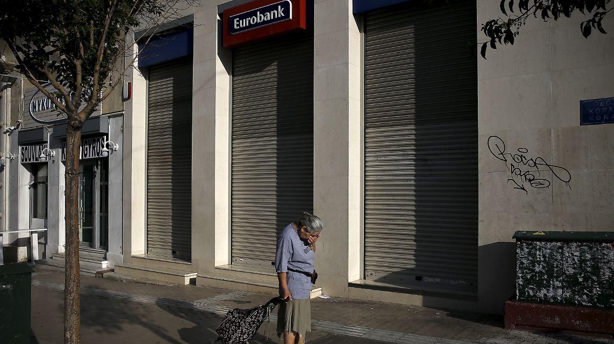 Griechische Sparer zahlen: Der Bankencrash wird teuer - n-tv.de