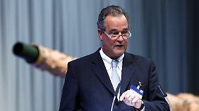 Der KMW-Vorstandsvorsitzende Frank Haun