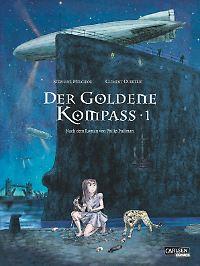 """""""Der Goldene Kompass Band 1"""", Carlsen, 80 Seiten Softcover, 12,99 Euro."""