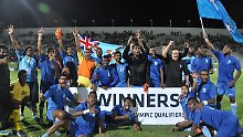 Inselkicker bei Olympischen Spielen: Fidschis Fußballer fahren nach Rio