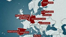 Streit über Griechenlandrettung: Europa in zwei Lager gespalten