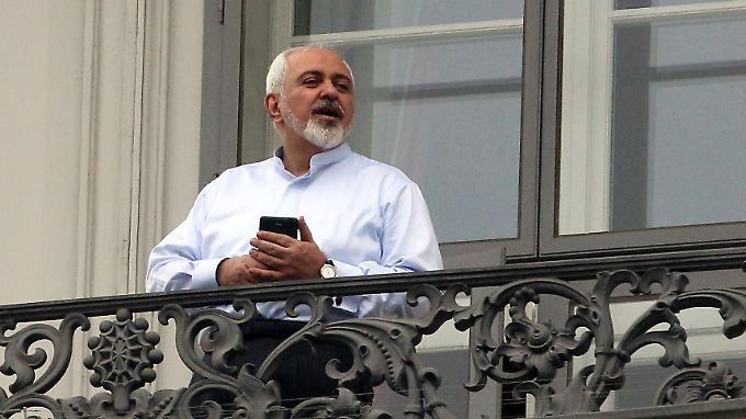 Irans Außenminister Javad Zarif hat noch nicht getwittert. Aber das kann ja noch kommen.