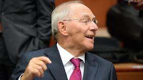 """""""Ich tu' die ganze Woche Gutes"""": Schäuble ist die Reizfigur der Griechenlandkrise"""