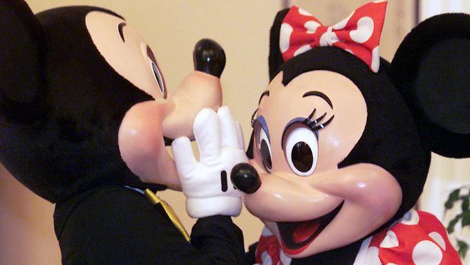 Der Disney-Kurs klettert.