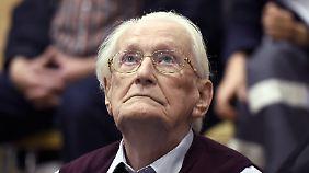 """""""Ich kann ihm nicht vergeben"""": SS-Buchhalter Gröning schuldig gesprochen"""